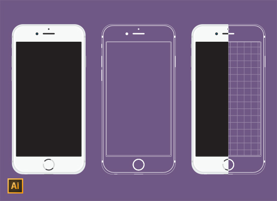 iPhone-5-Vector-and-Wireframe-_FI